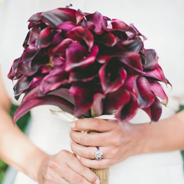 svatební květiny