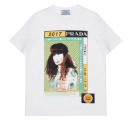 Prada Poster Girl l35838 Bianco+Menta