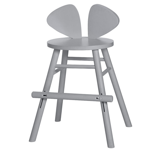 LavlyMOUSE CHAIR JUNIOR_GREY_3003