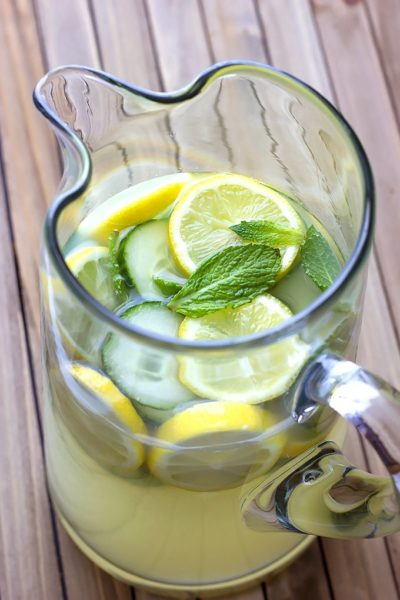 This Cucumber Mint Lemonade might be the most refreshing drink you'll have all summer!