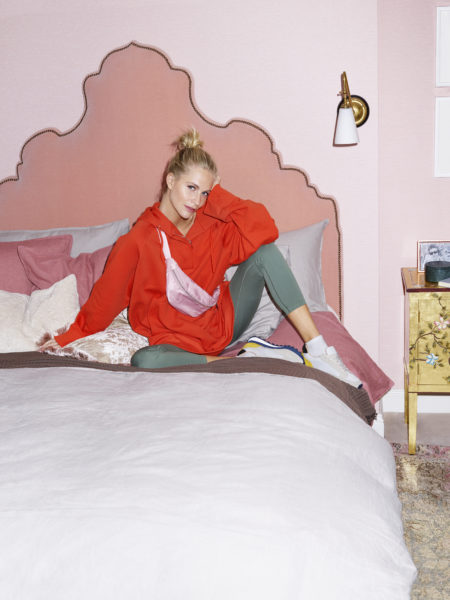 H&M HOME_At home with Poppy Delevingne_Bed